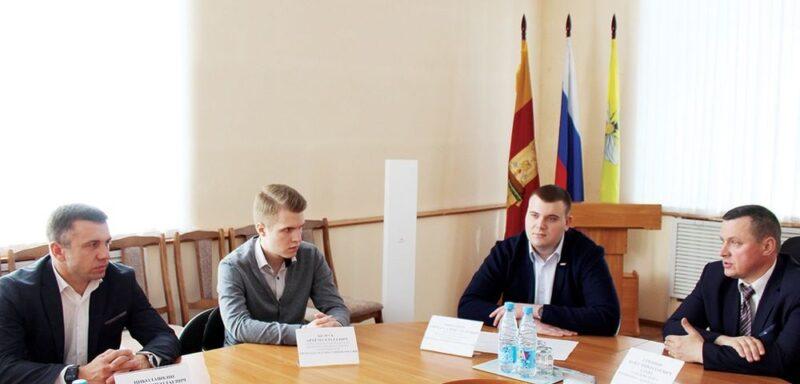 """В Сандовском округе """"Молодая гвардия"""" впервые провела акцию"""