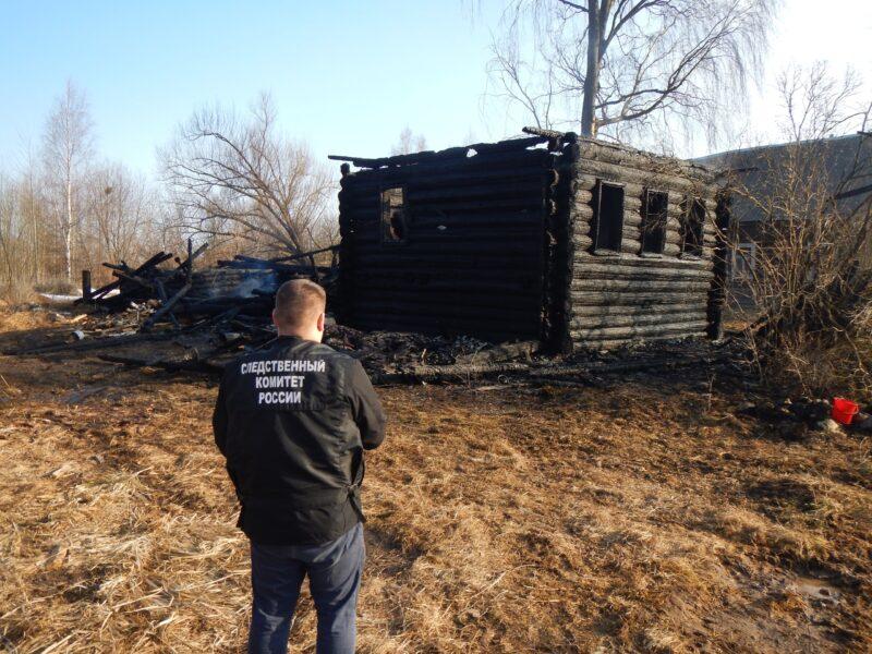 В Тверской области ночью в деревянном доме сгорела женщина
