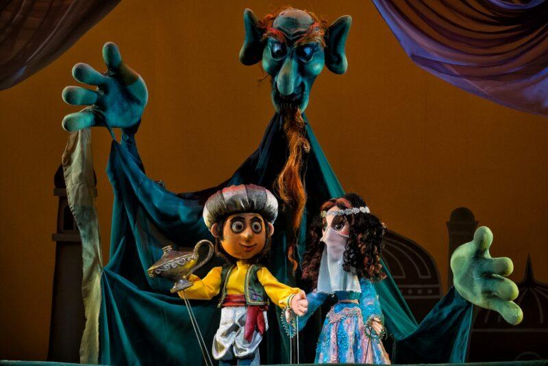 Лампа Алладина покажет волшебство в Тверском театре кукол
