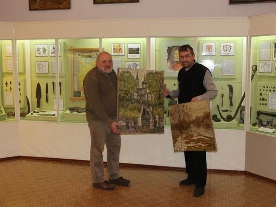 Музей в Андреаполе пополнил коллекцию картинами