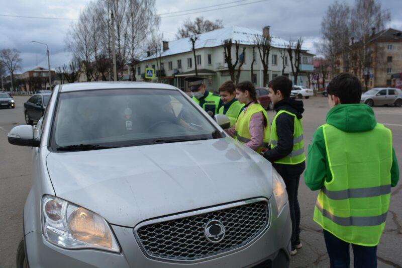 В Нелидово госавтоинспекция провела акцию по выявлению нетрезвых водителей