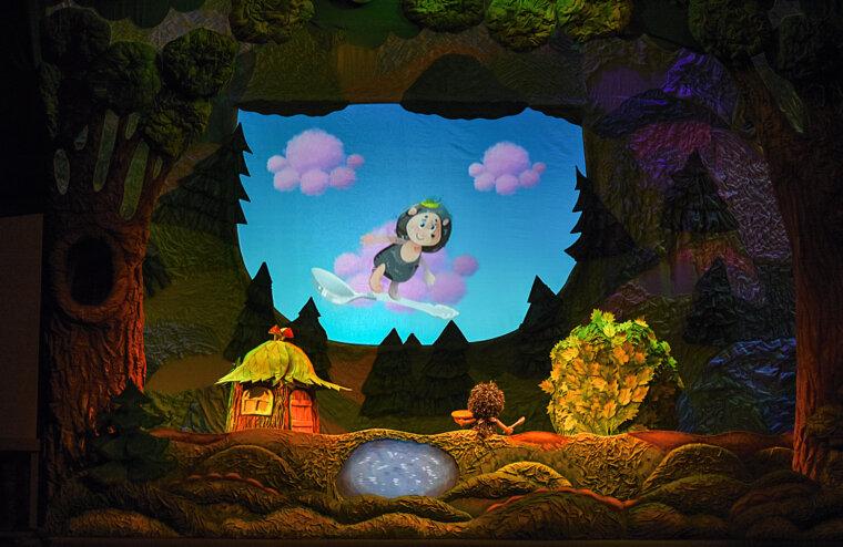 В Театре кукол покажут приключения Ёжика и Медвежонка