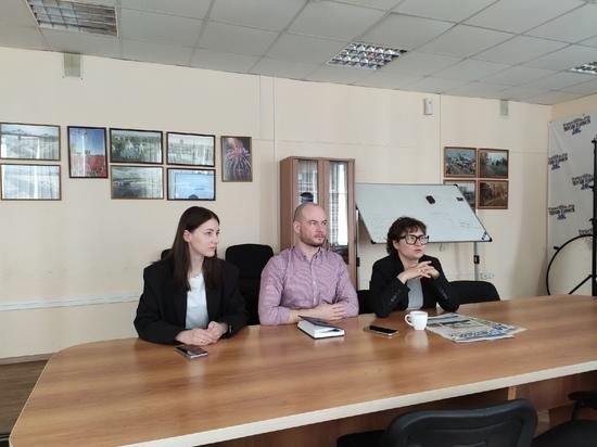 Школьники Тверской области побывали на «Классной встрече» на тему журналистики
