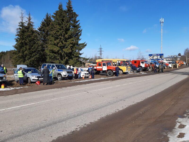В Торопецком районе подразделения и техника готовы к пожароопасному периоду