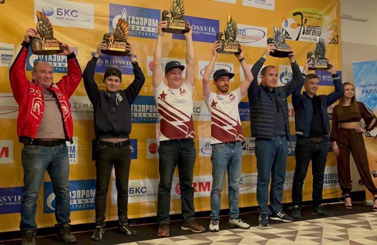 Экипаж тверского спортсмена выиграл «Золото Кагана-2021» в астраханских песках