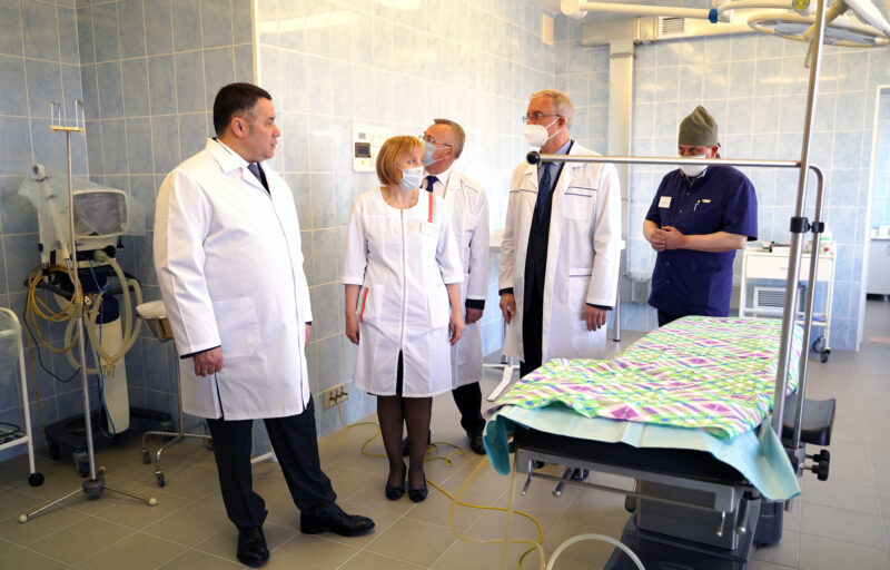 В Пеновской центральной районной больнице продолжится ремонт и оснащение современным оборудованием