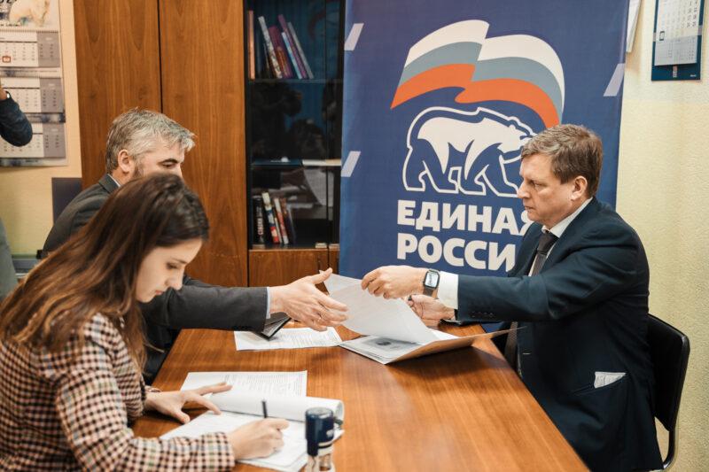 Сенатор Андрей Епишин подал документы на участие в праймериз по выборам в областной парламент