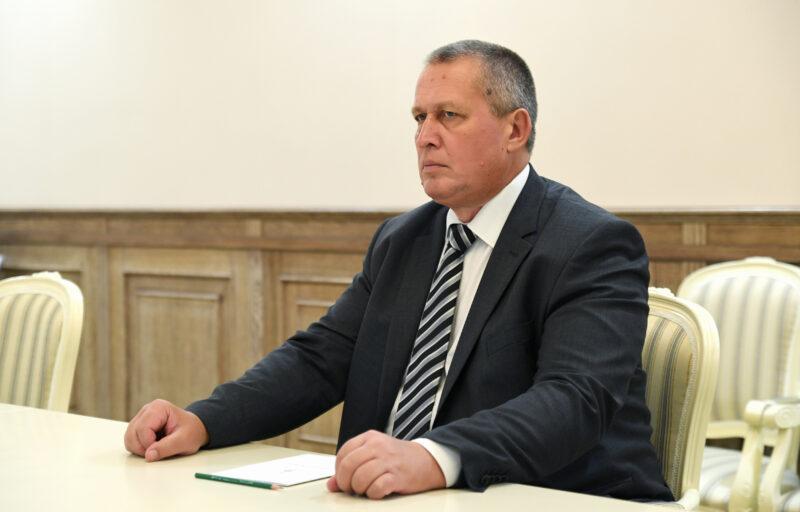 Губернатор встретился с главой Кашинского городского округа Германом Баландиным