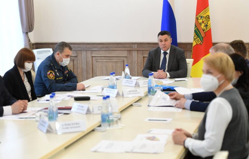Капитальный ремонт Ржевской станции скорой помощи будет завершен текущим летом