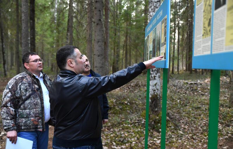 Игорь Руденя поручил продолжить благоустройство истока реки Западная Двина