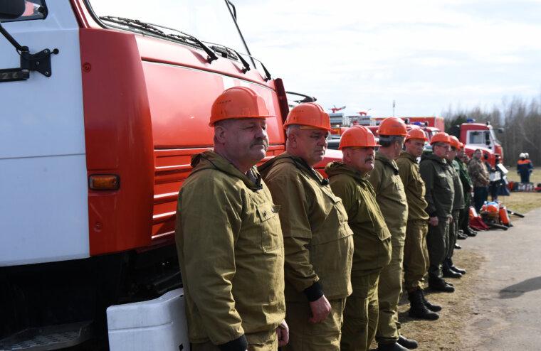 Игорь Руденя проверил готовность сил и средств Тверского региона к пожароопасному периоду