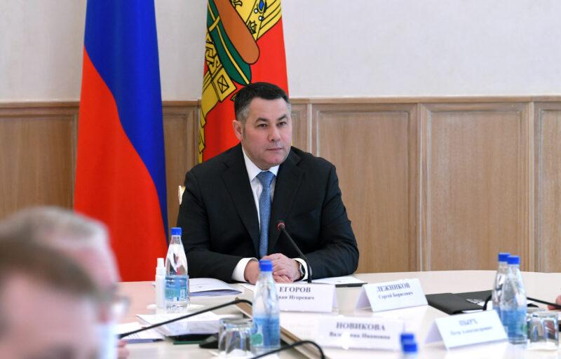 Губернатор Игорь Руденя провел заседание регионального штаба по предупреждению распространения коронавируса