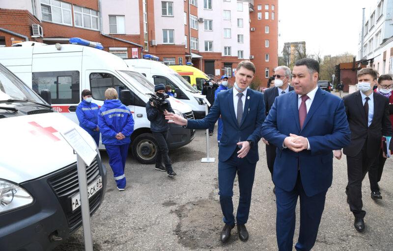 В Верхневолжье дополнительные средства направят на укрепление кадрового потенциала Тверской станции скорой медицинской помощи