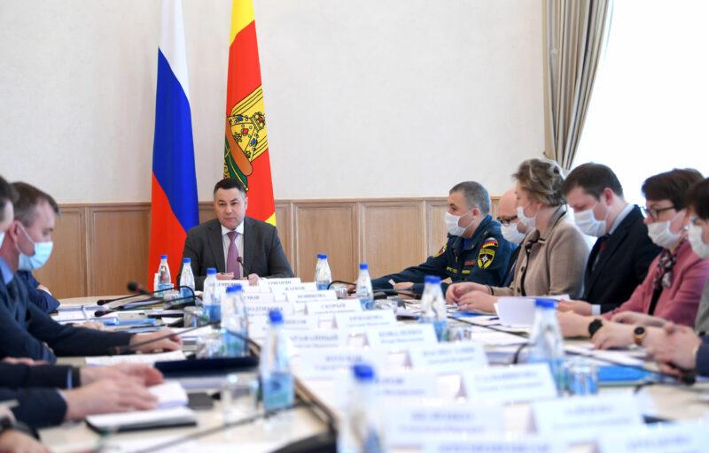 Игорь Руденя: Необходимо равномерно развивать всю территорию Тверской области