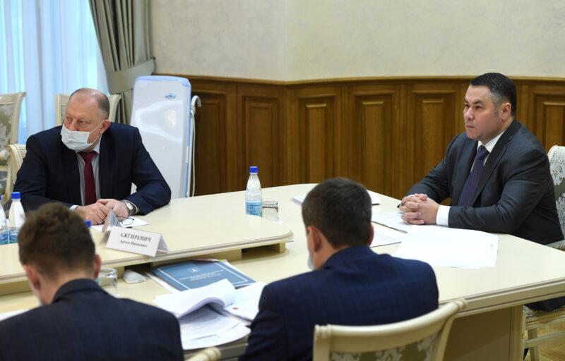 В правительстве поговорили о планировании ремонта региональных дорог Тверской области