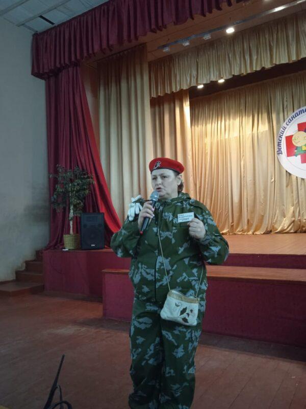 Юнармейцы из Ржевского района принимают участие в смене «Лидер 2021»