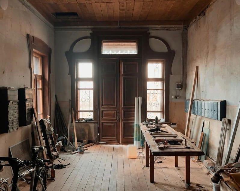 Московский фотограф запечатлел дом купцов Рябушинских в Тверской области