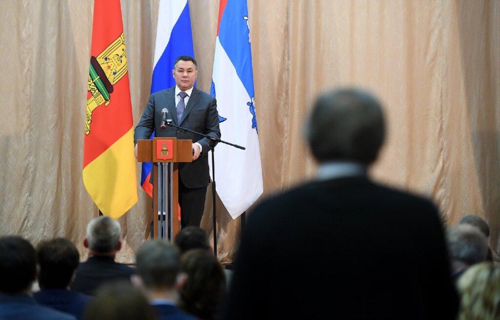 Игорь Руденя встретился с жителями Пеновского муниципального округа