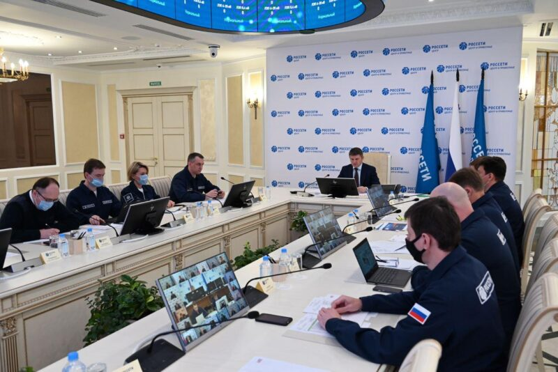 Игорь Маковский провел заседание Штаба по вопросу восстановления энергоснабжения