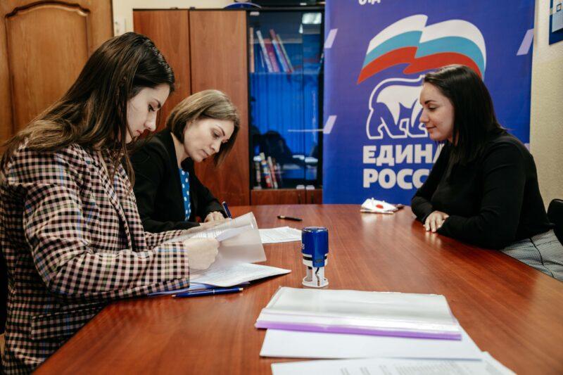 Юлия Саранова подала документы на праймериз в Госдуму