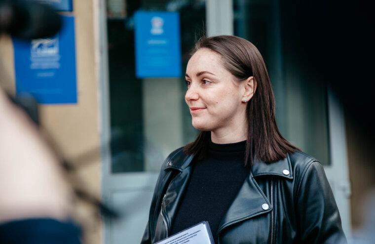 Юлия Саранова подала документы на праймериз  в Госдумулия Саранова подала документы на праймериз  в Госдуму
