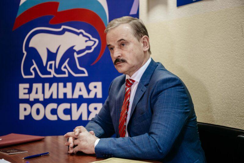 Сергей Веремеенко подал документы на участие в праймериз «Единой России»