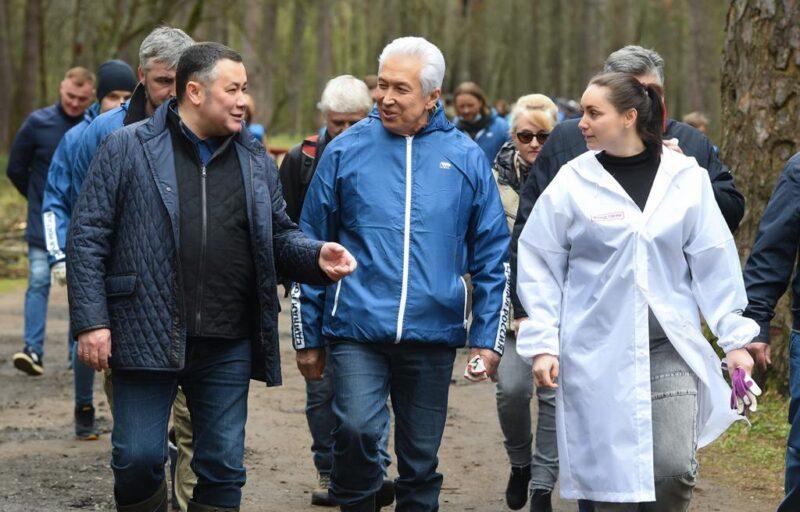 Тверская Комсомольская площадь станет природным парком