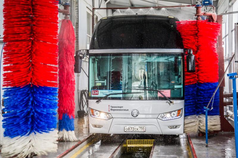 Автобусы «Верхневолжского АТП» подготавливают к летнему сезону