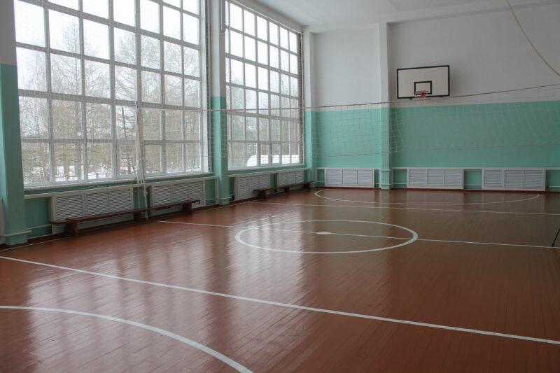 В одной из вышневолоцких школ отремонтировали спортивный зал