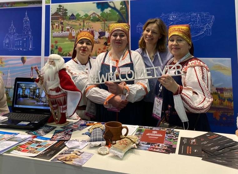 Тверская область представила туристическую индустрию в профильной выставке «Интурмаркет» в столице