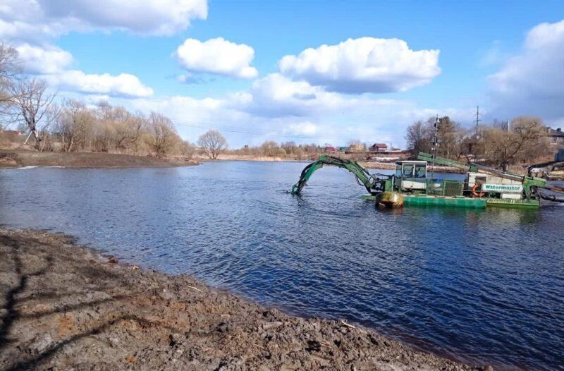 В Тверской области приступают к расчистке реки Кимрки