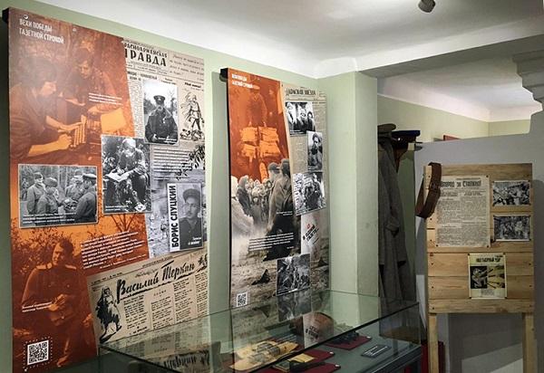 В Ржевском филиале Музея Победы открылась выставка, посвященная военкорам