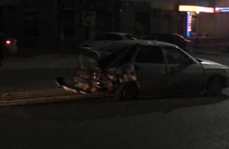 В Московском районе Твери произошла автомобильная авария