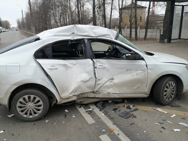 Появились подробности аварии на Московском шоссе в Твери