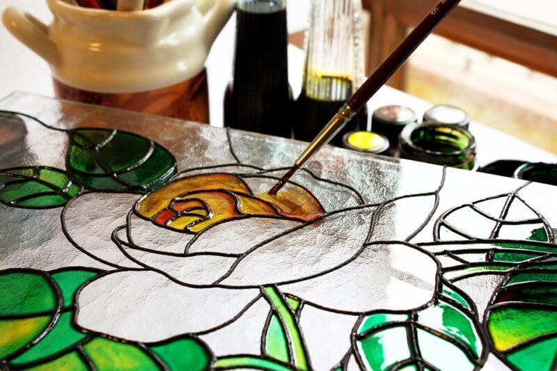 В Твери пройдет мастер-класс по росписи на стекле