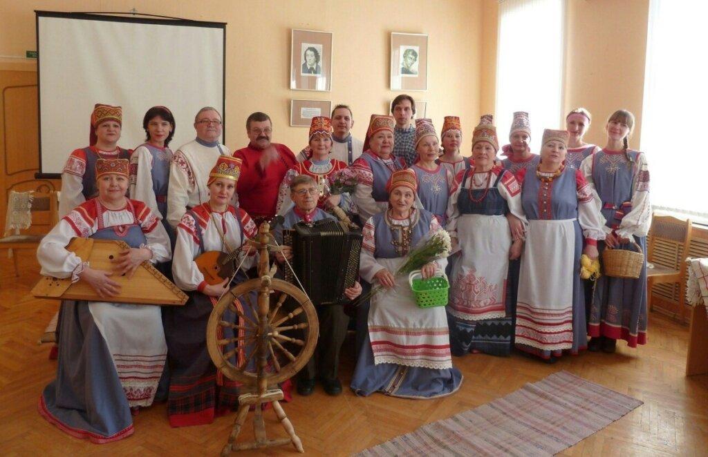 В Тверской Горьковке споют карельские народные песни