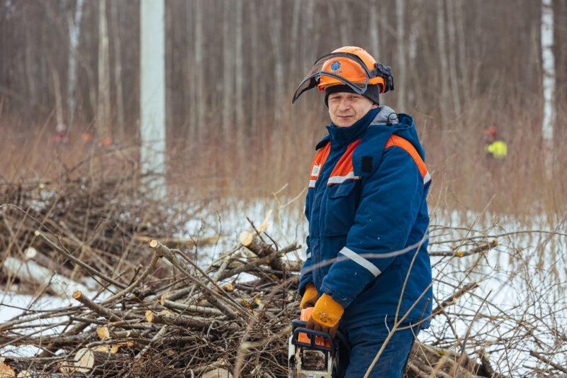 Жители поселка Труженик поблагодарили специалистов Тверьэнерго за качественную работу