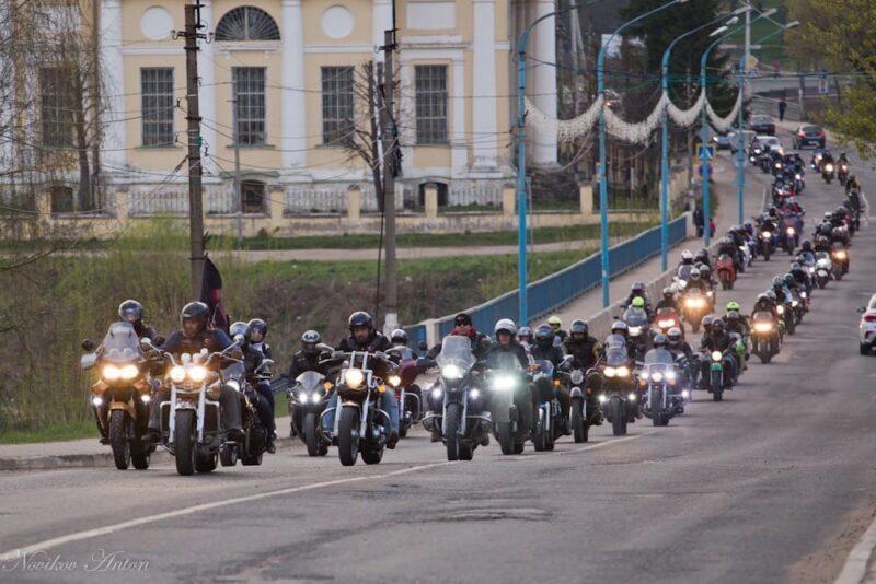 Торжокские байкеры готовятся к открытию нового мотосезона