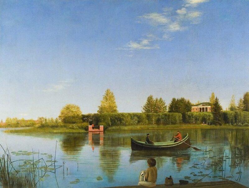 В Третьяковке представлено полотно из собрания Тверской картинной галереи