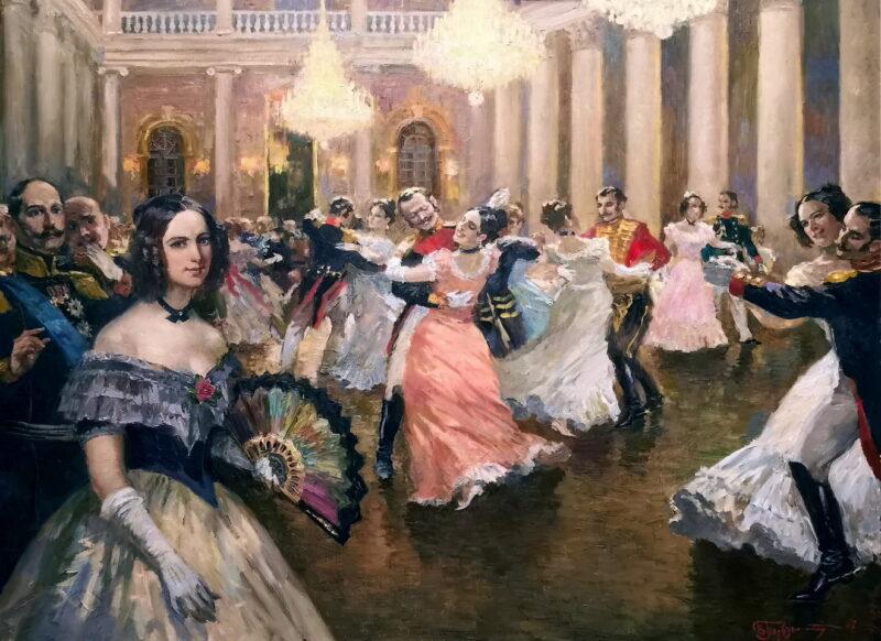 Тверские дамы похвастают нарядами на танцевальном вечере «Вальс цветов»