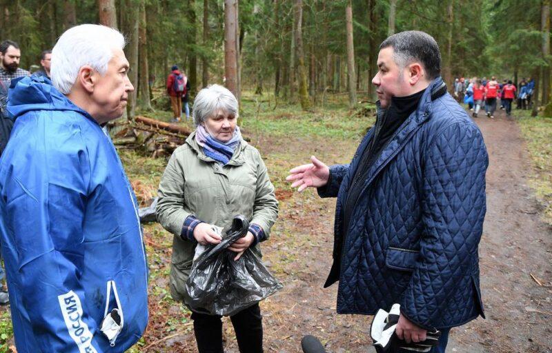 Игорь Руденя сообщил о строительстве новой развязки в Заволжском районе Твери