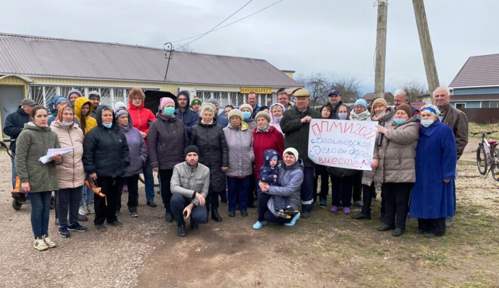 Жители села Васильевское под Тверью планируют отремонтировать дорогу