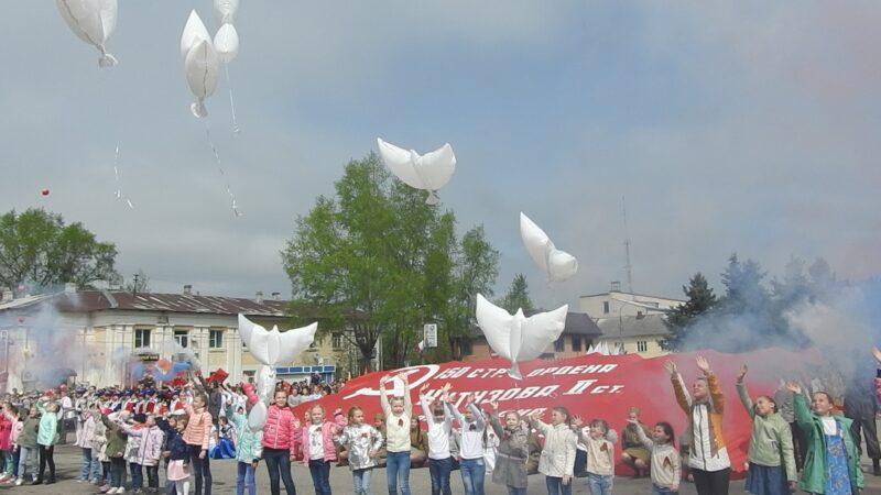 В Калязинском районе Тверской области вовсю репетируют Парад Победы