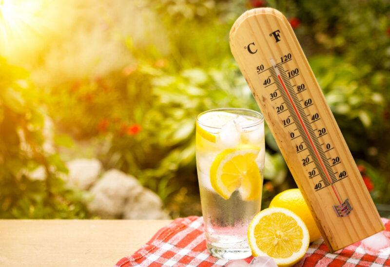 МЧС сообщает правила поведения при жаре