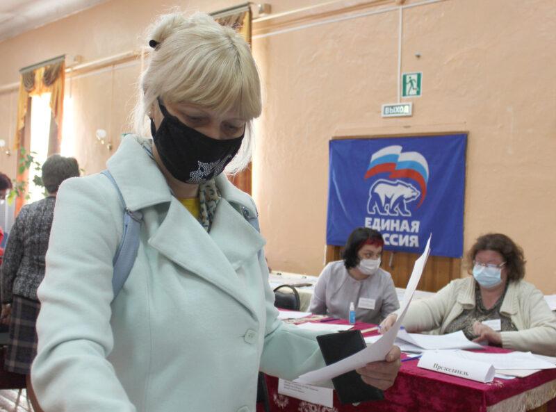 Жители Тверской области активно участвуют в праймериз с раннего утра