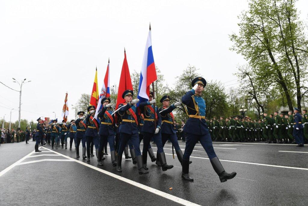 Стал известен новый маршрут Парада Победы в Твери
