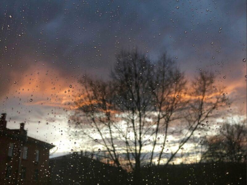 На территории Тверской области может пойти дождь