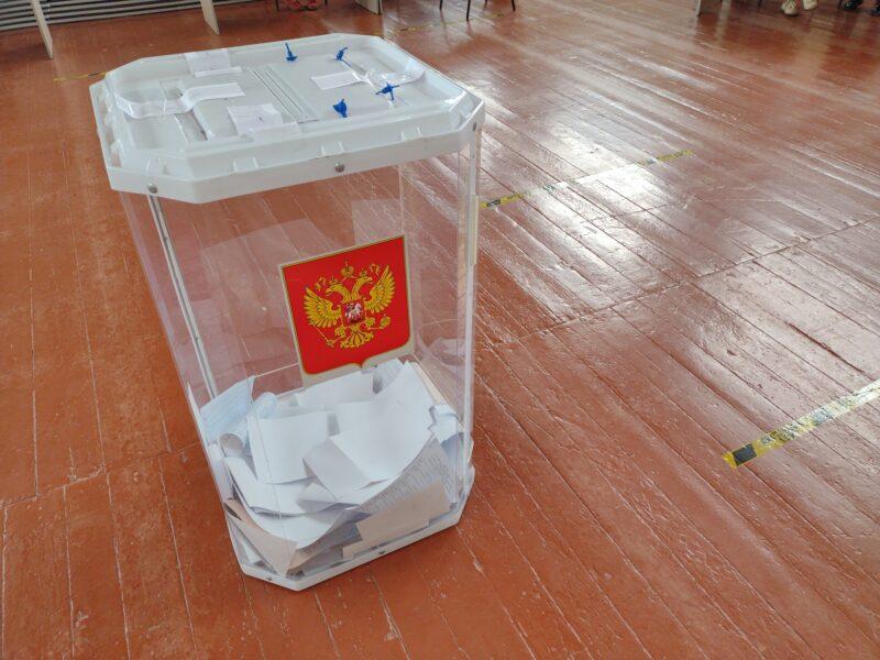 В Торжке к шести часам вечера проголосовало больше пятиста человек