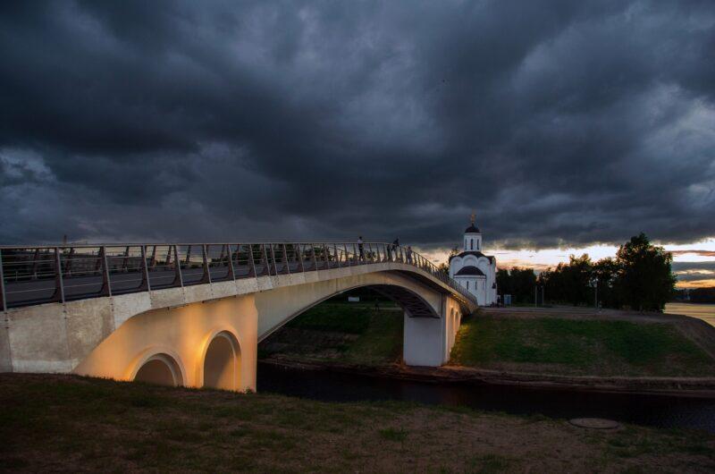 Тверской фотограф показал прекрасный тверской закат