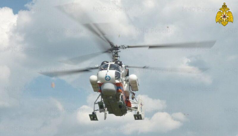 Вертолет санавиации доставил несовершеннолетнего пациента в больницу